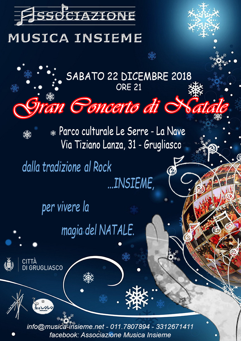 Gran Concerto di Natale Grugliasco